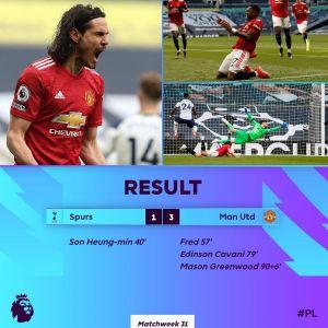 Tottenham vs Manchester United 1-2 Highlights