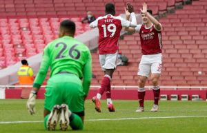 EPL: Arsenal vs Brighton And Hove Albion 2-0 Highlights (Download Video)