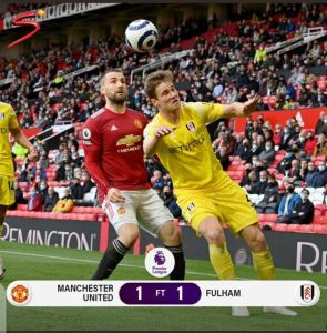 Manchester United vs Fulham 1-1 Highlights (Download Video)