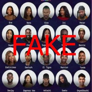 BBNaija Organizer Decries Fake Season 6 Housemate List