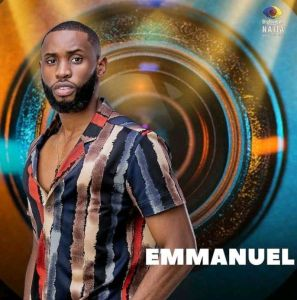 BBNaija Season 6 (Shine Ya Eye) Male Housemate, Emmanuel
