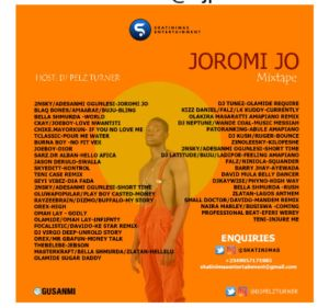 DJ Pelz Turner - Joromi Jo Mixtape Tracklist