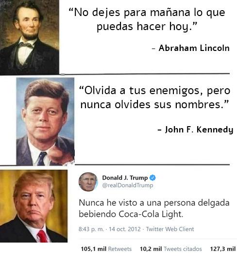 Grandes citas de grandes hombres.