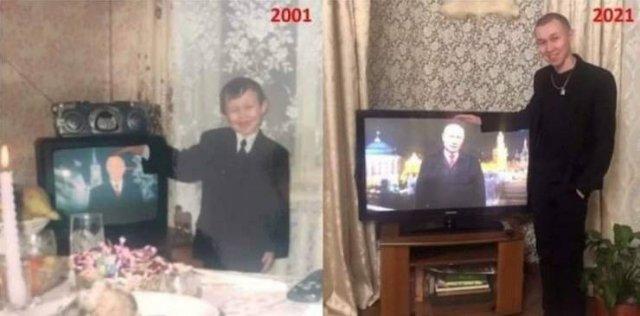 Los tiempos cambian, Putin permanece.