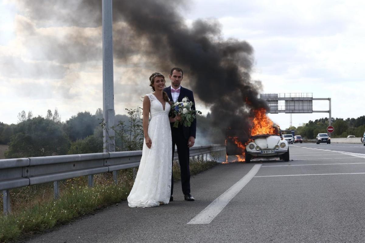 La mejor foto del álbum de boda.