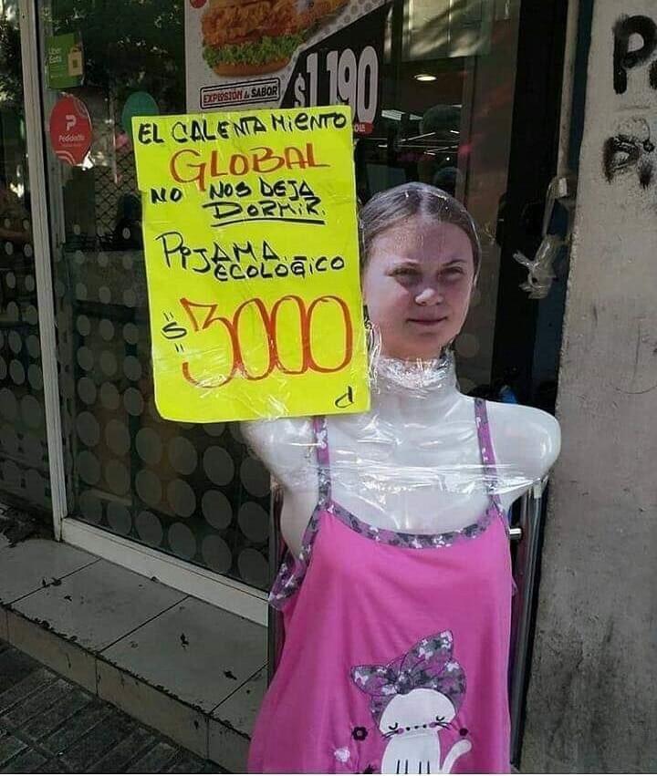 Ya tardaba en venderse la Greta.