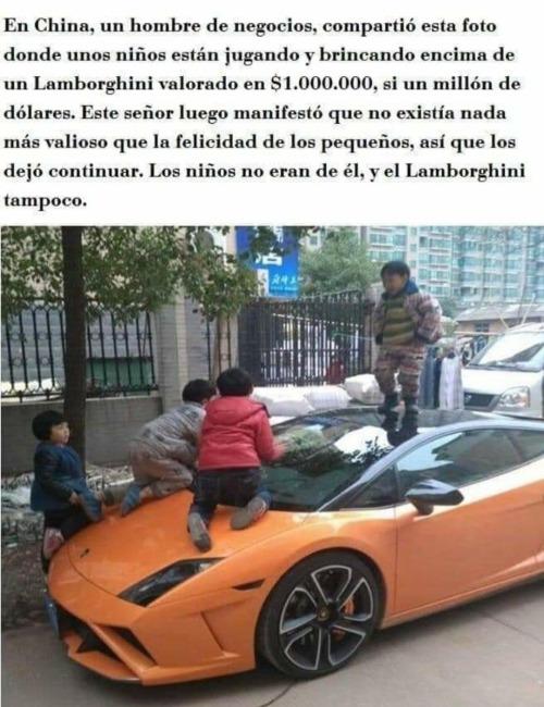 Nada tiene más valor que la felicidad de un niño.