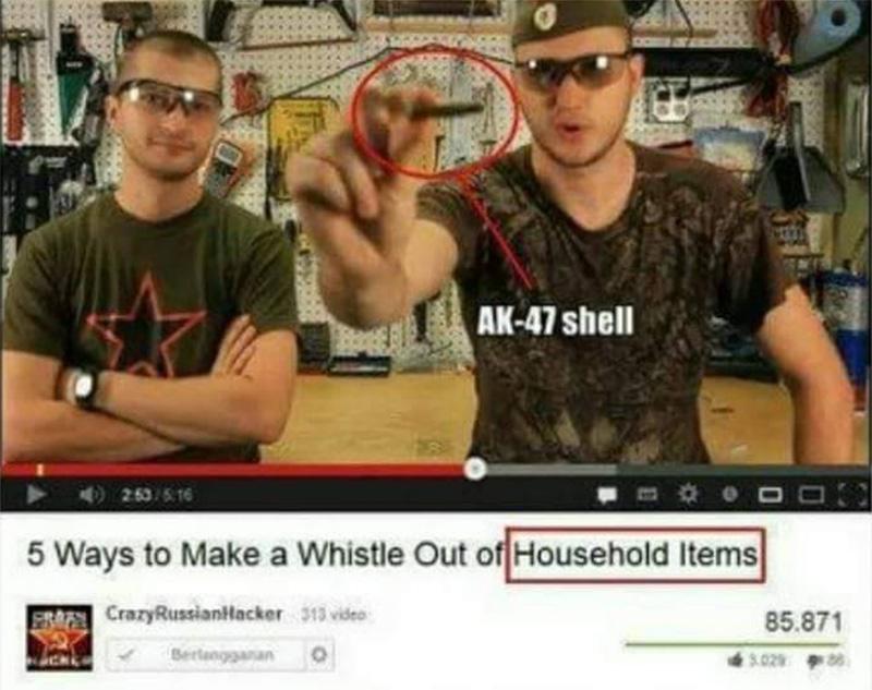 «Cómo hacer un silbato con cosas que tengas por casa».
