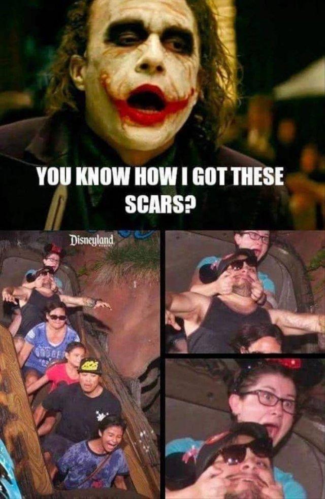 ¿Quieres saber cómo me hice estas cicatrices?