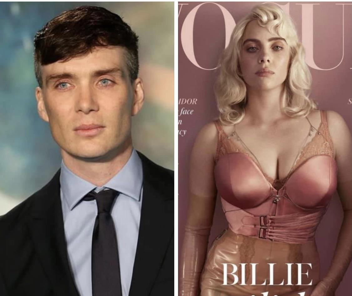 Billie Eilish es Cillian Murphy con peluca.