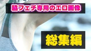 【脇フェチ専用】女性のワキチラ&モロ脇画像まとめ【総集編】