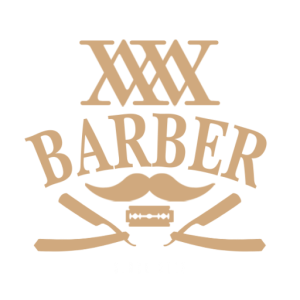 Wisemen Barbershop - Logo (Gold)