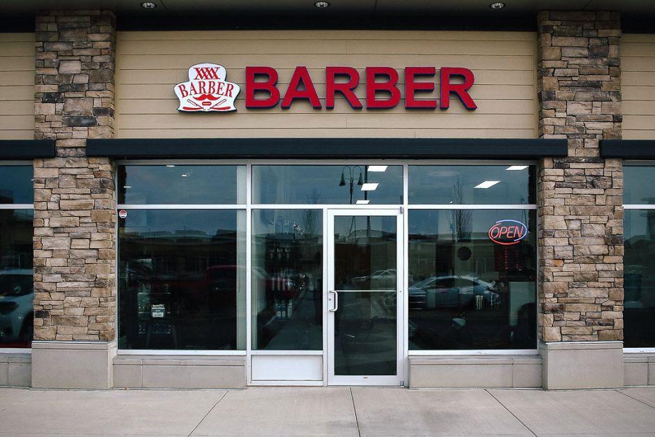 Wisemen Barbershop - Store Front Sign