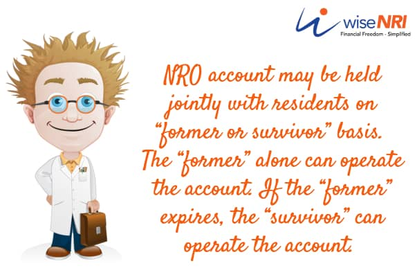 nro joint account with resident