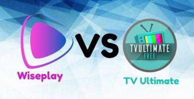 Wiseplay VS TV Ultimate / Mega comparación