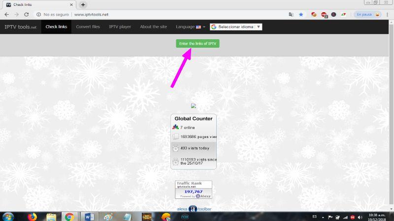 IPTV Tools pagina oficial