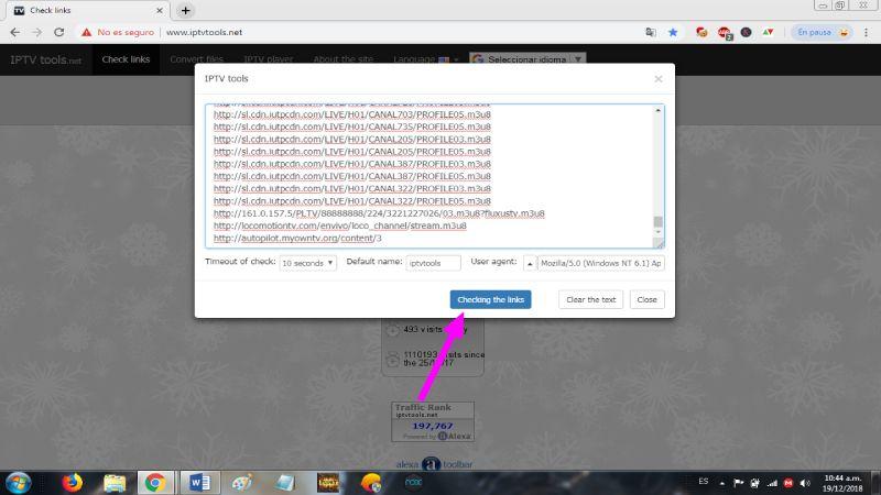 Como crear listas iptv
