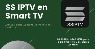 configurar SS IPTV en Smart TV