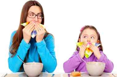 Table Manners to Kids