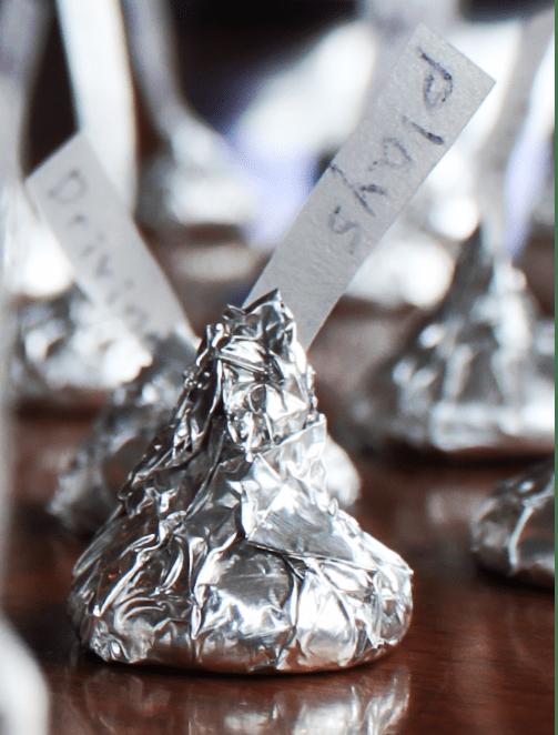 DIY Hershey's Kisses