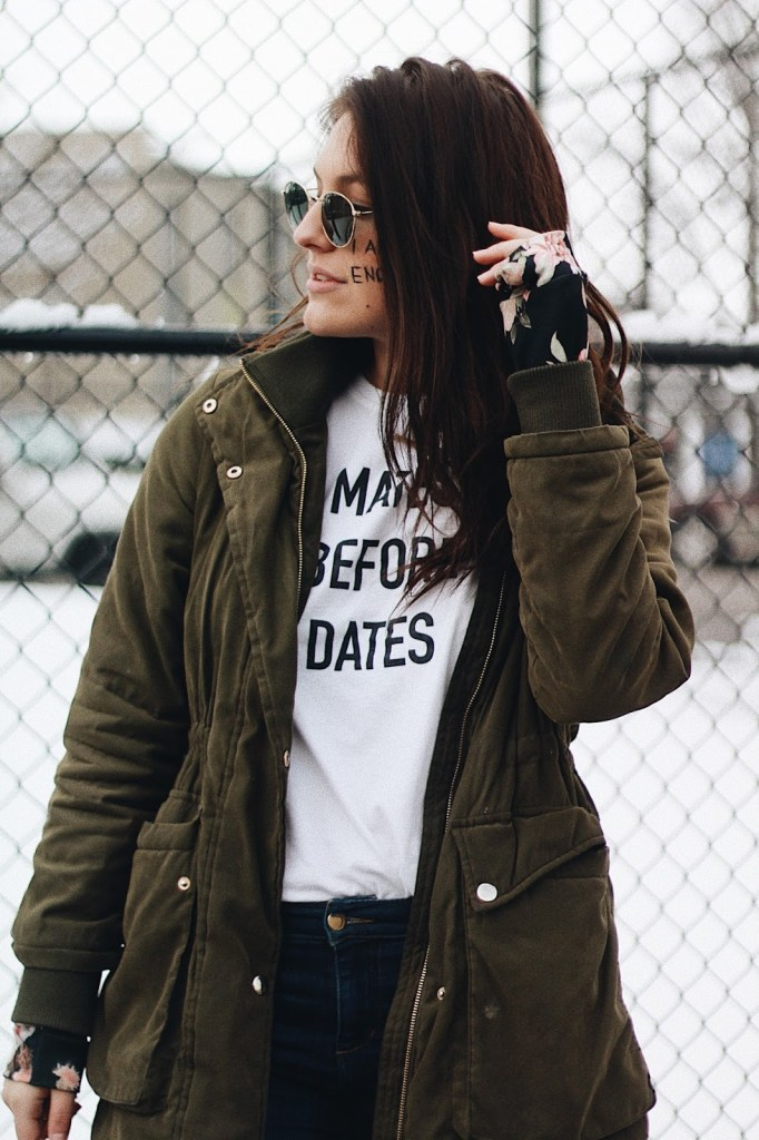 cool girl winter style