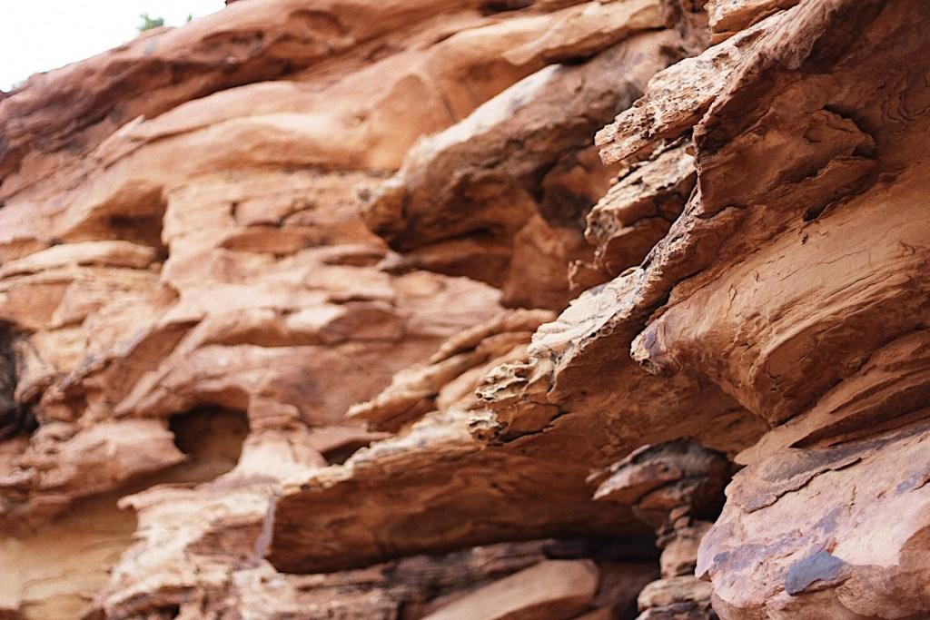 red rock in torrey