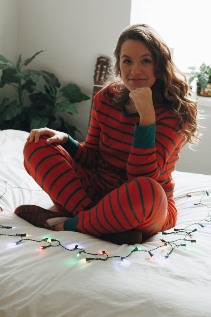 striped pajamas christmas old navy
