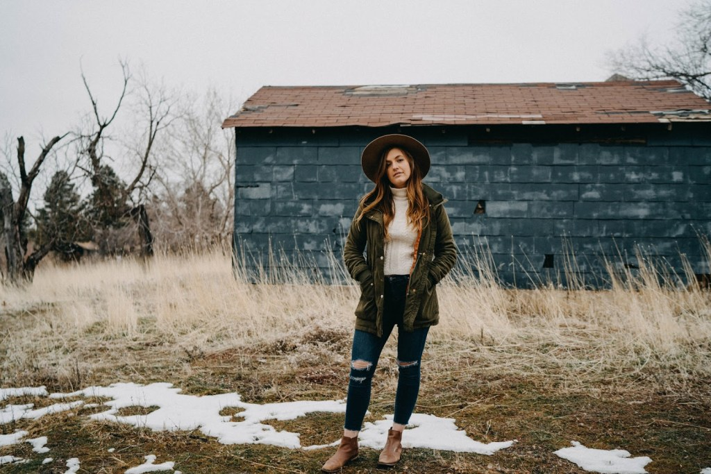 winter funk blue house fall winter outfit