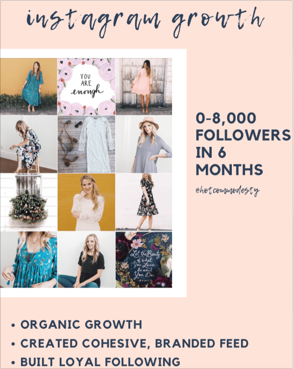 brand consulting instagram growth