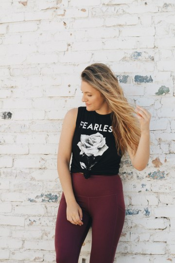 trained like blake lively for a month tone up with don saladino fearless tank top royalti athletics