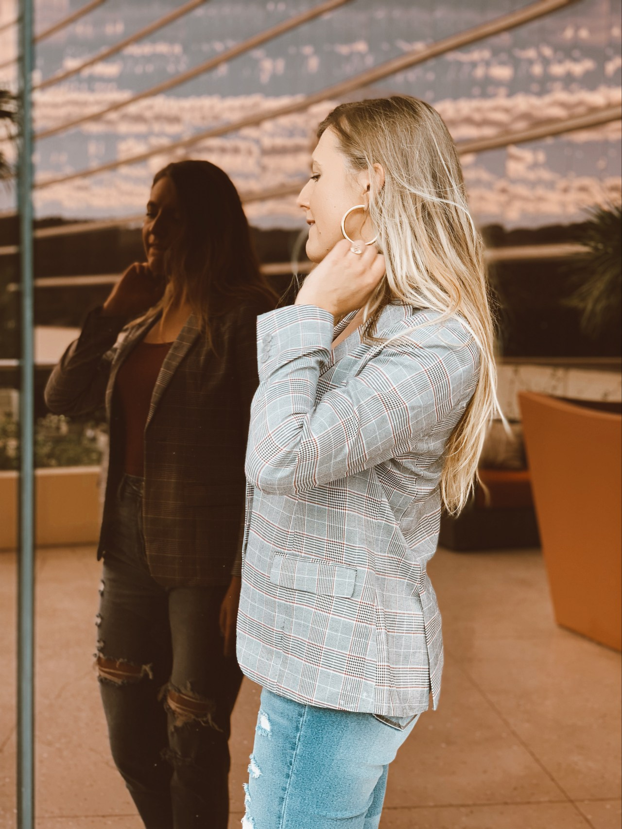 glen plaid blazer menswear trend fall productivity boost