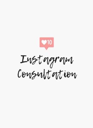 instagram consultation