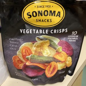 Sonoma Vegetable Crisps from Costco