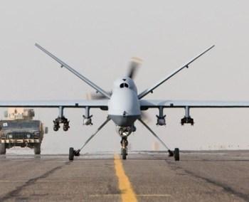 DRONE runway plus truck