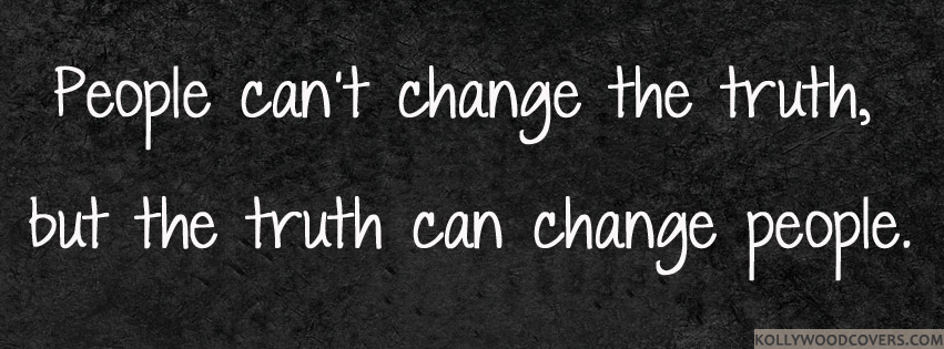 People can change