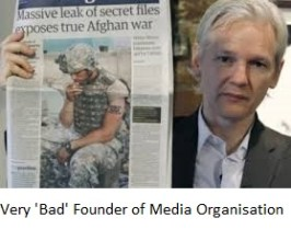 Assange very bad founder of media org