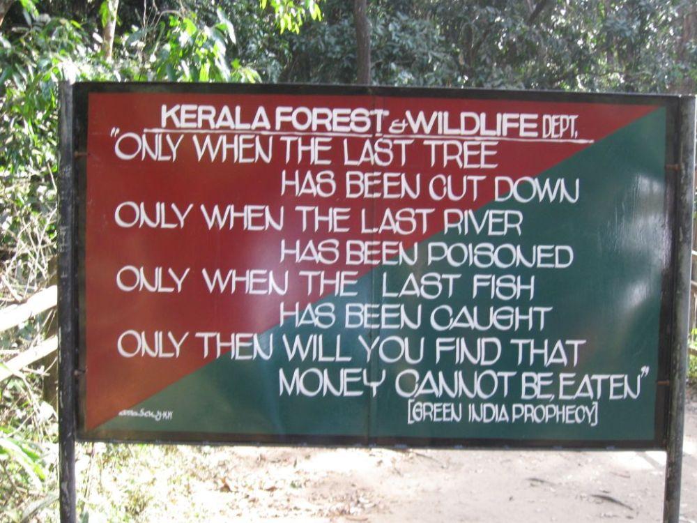 Brilliant Message: Nature Conservation