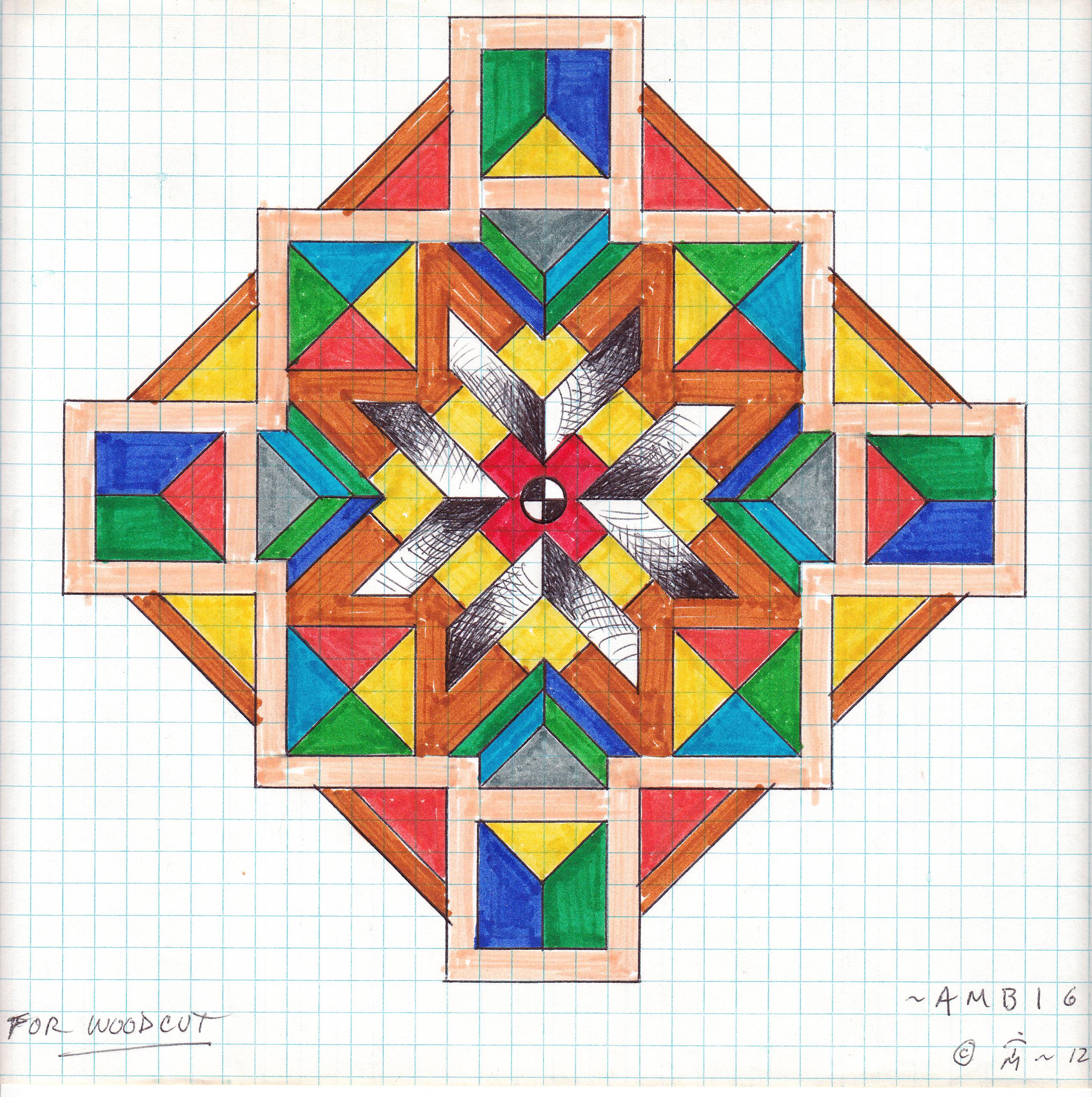 Ambiguous Geometric Mandala