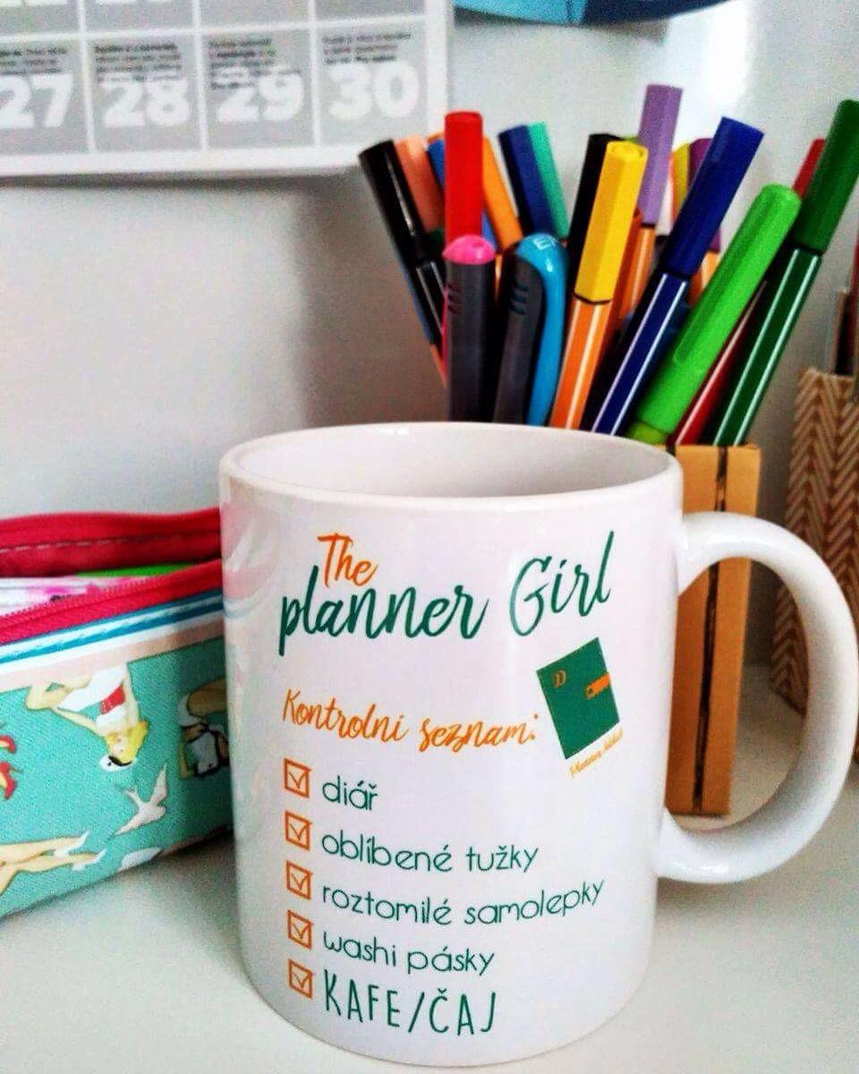 Planner girl hrneček