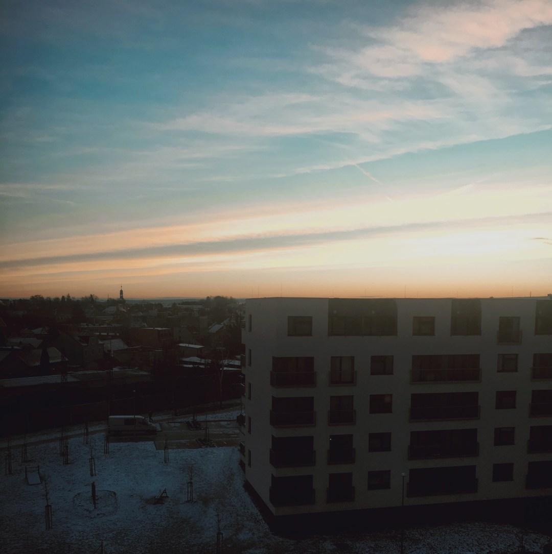 Červánky ráno