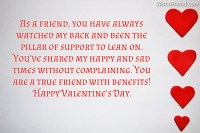 valentine msg for friends