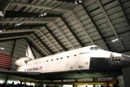Endeavour Space Shuttle, California Science Center, USA