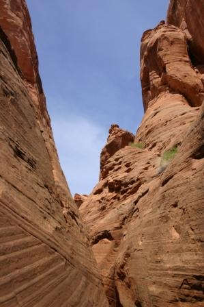 Hidden Canyon, Lake Powell, Page, Arizona, USA