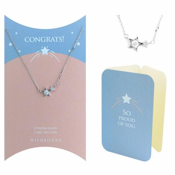 Congrats Shining Star Pendant Necklace