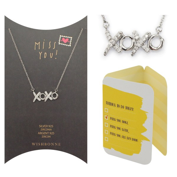 Miss You XOXO Pendant Necklace