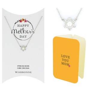 M' DAY FLOWER NECKLACE GIFT SET