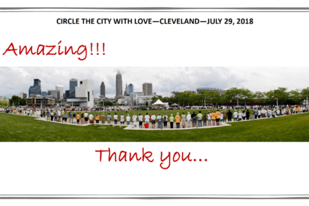 Circle the City with Love to Spread Peace in Public Square