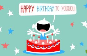 Cute-happy-birthday-to-you.-Wish-on-picture-with-boy-blowing-candles