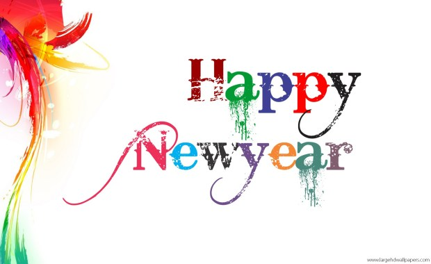 happy new year white desktop background hd wallpaper