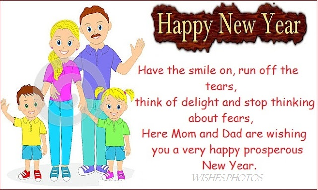 222+ Cool Happy New Year Wishes Message SMS For Friends, Family And ...